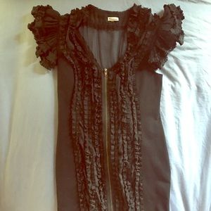 Foley & Corinna little black dress